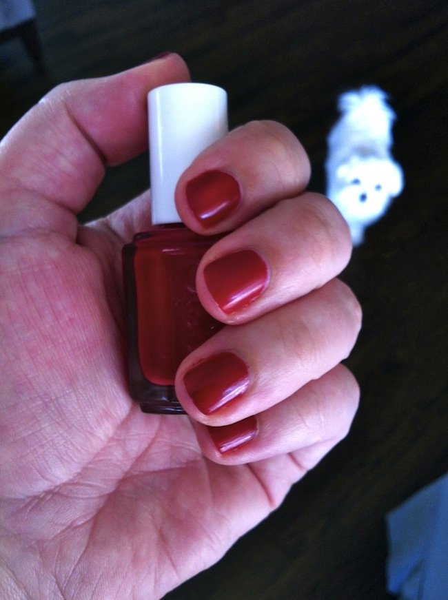 Essie Red Nail Polish With Blue Undertones - Best Nail 2018