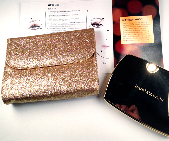 bareMinerals Light Show Bag and Tutorial