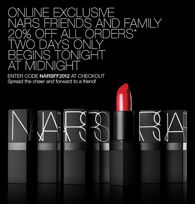 NARS Friends and Family Online at Belle Belle Beauty