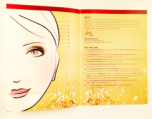 bareMinerals® 'Simply Irresistible' Collection Pamphlet