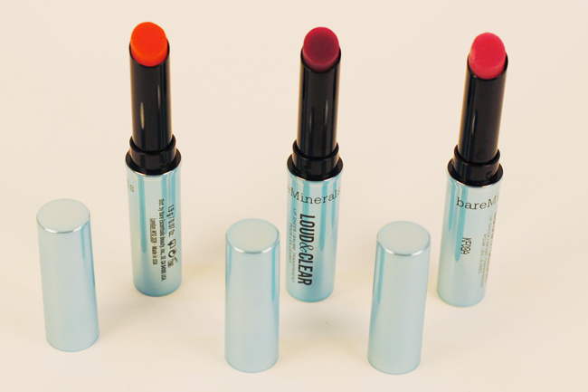 bareMinerals Remix Collection Loud & Clear Lip Sheers // Belle Belle Beauty