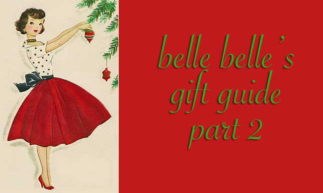 Holiday Gift Guide Part 2 on Belle Belle Beauty