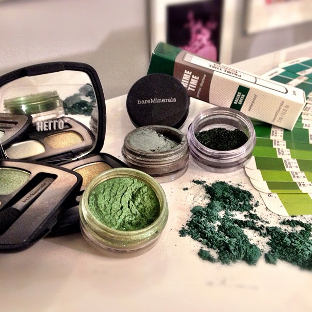 Bare Minerals Emerald Color of the Year on Belle Belle Beauty