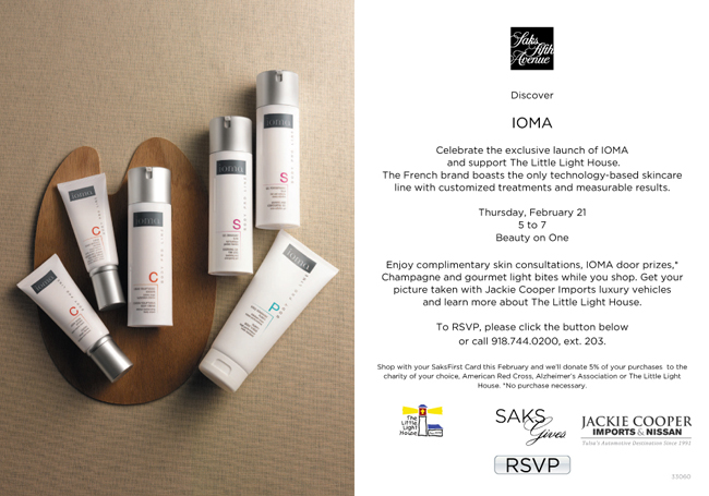 IOMA Skincare Launches at Saks // Belle Belle Beauty
