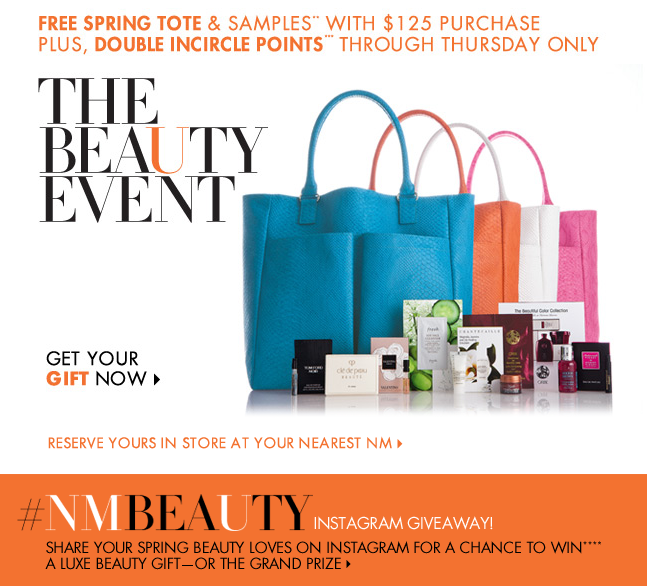 Neiman Marcus Beauty Event Starts Today! // Belle Belle Beauty