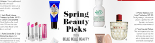 Thumbnail image for Spring Beauty Picks in Prairie Hive Magazine