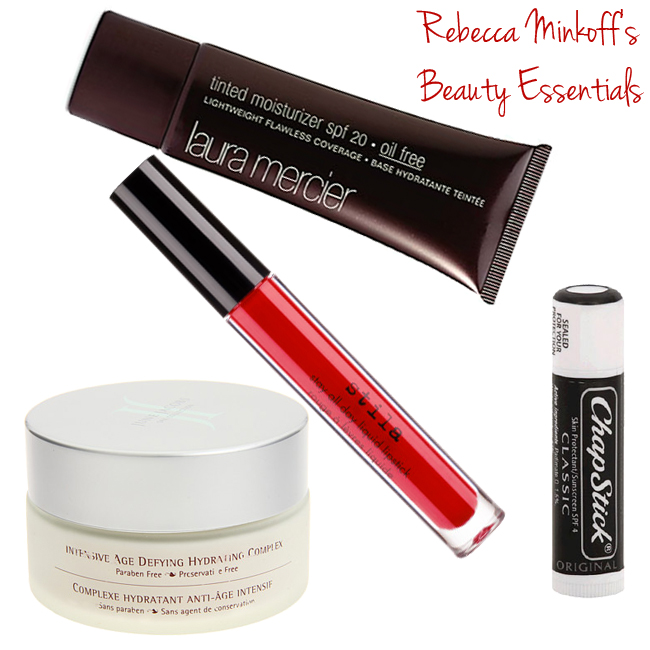 Rebecca Minkoff's Beauty Essentials // Belle Belle Beauty