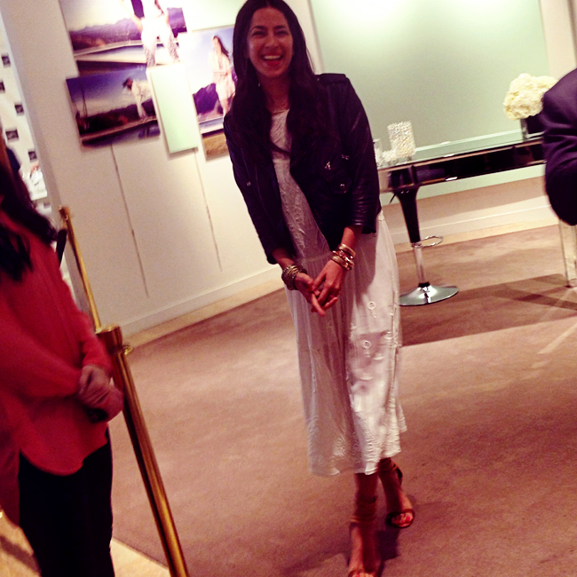 Rebecca Minkoff Visits Saks and Chats Beauty With Belle Belle // Belle Belle Beauty