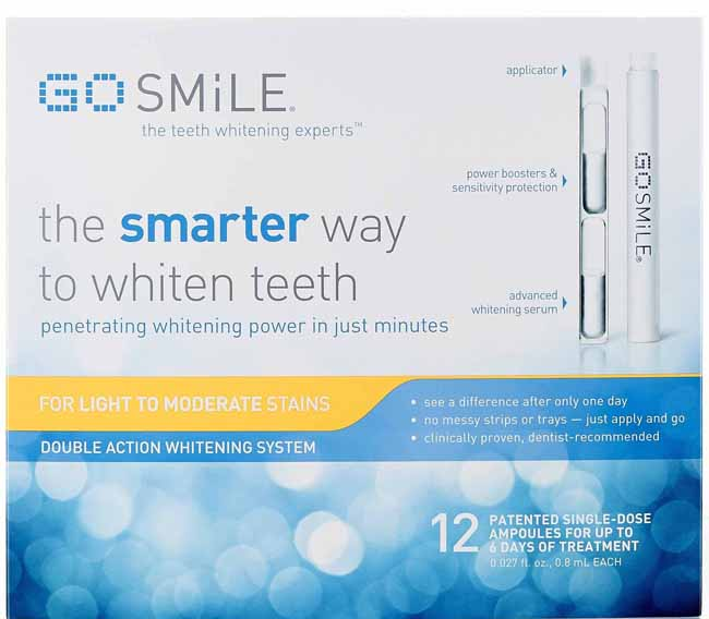GO SMiLE 6 Day Double Action Whitening System - GIVEAWAY // Belle Belle Beauty