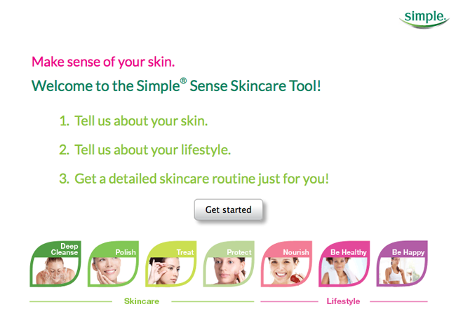 New SimpleSense Tool from Simple Skincare // Belle Belle Beauty