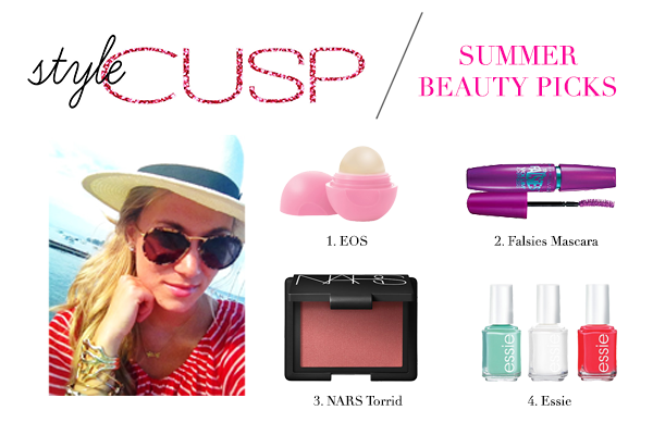 Style Cusp's Summer Beauty Routine // Belle Belle Beauty