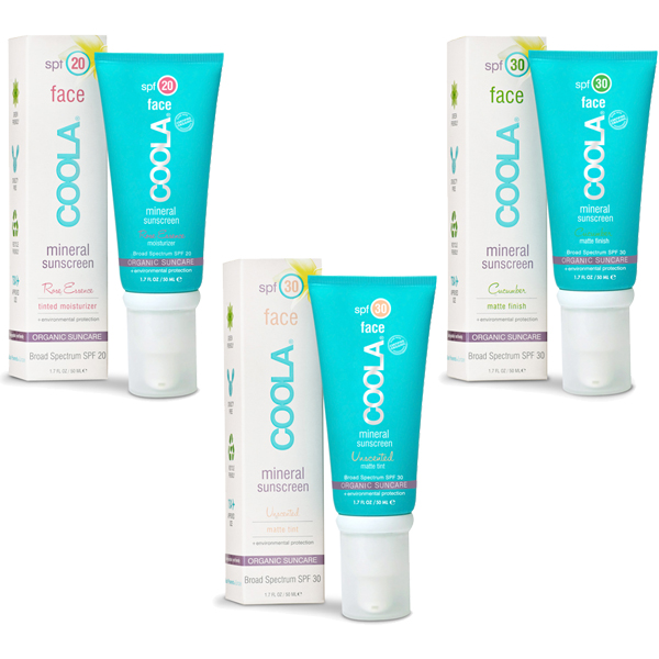 COOLA Mineral Face Sunscreen // Belle Belle Beauty