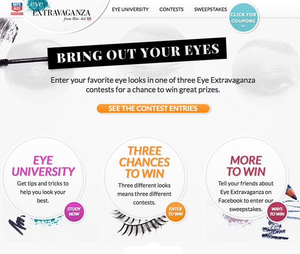 Rite Aid's Eye Extravaganza GIVEAWAY