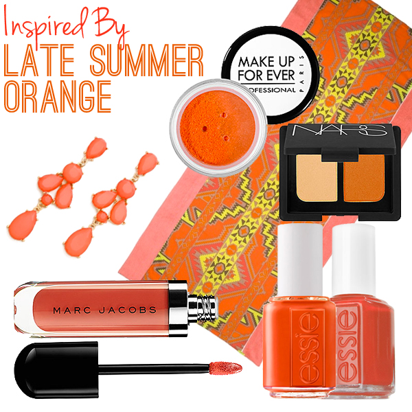 Summer Orange // Belle Belle Beauty