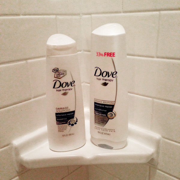 Dove Intensive Repair Shampoo and Conditioner // Belle Belle Beauty