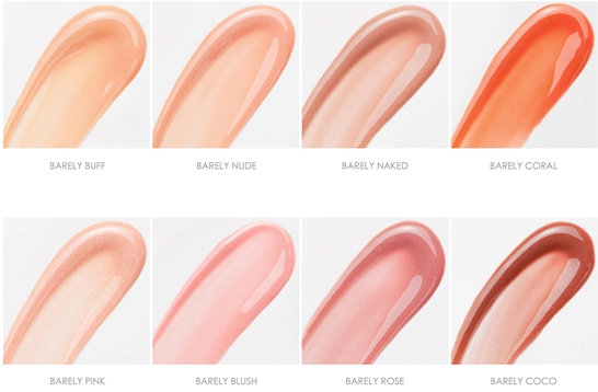 Naked Shine Luscious Lipgloss Swatches // Belle Belle Beauty