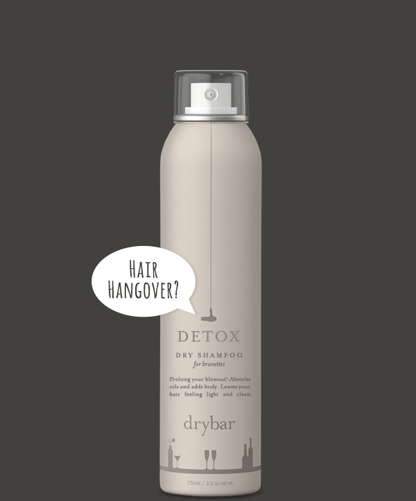 DETOX Dry Shampoo for Brunettes from drybar // Belle Belle Beauty