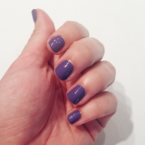 Londontown Nail Treatment and Color in Purple Reign // Belle Belle Beauty