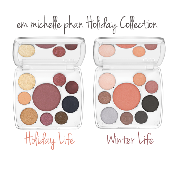 em michelle phan Holiday Collection on Belle Belle Beauty