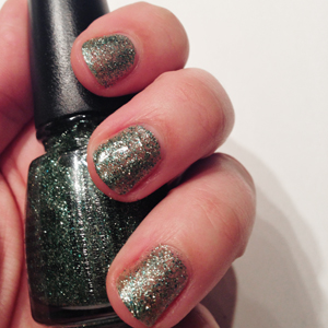 China Glaze Happy HoliGlaze This is Tree-mendous on Belle Belle Beauty