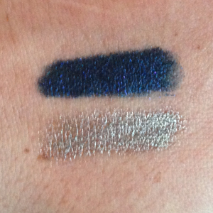 Ombre Blackstar in Blue Obsession (top) and Ombre Mercure (bottom) on Belle Belle Beauty