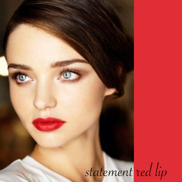 Statement Red Lip on Belle Belle Beauty