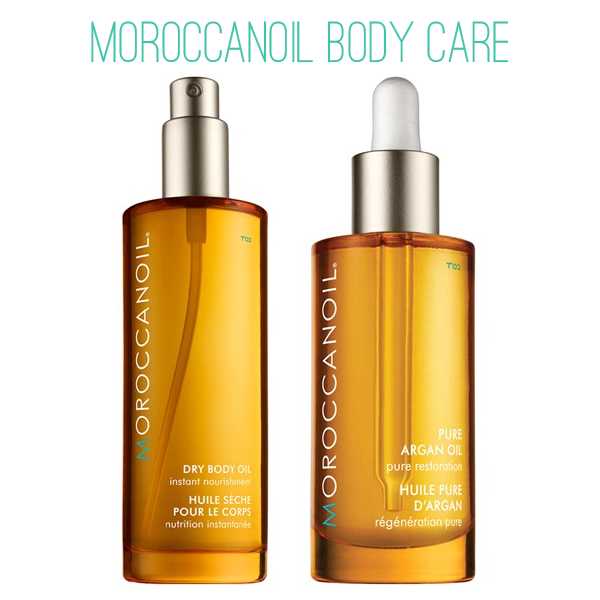 Moroccanoil Pure Argan and Dry Body Oil on Belle Belle Beauty