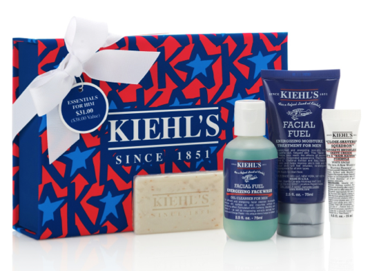 Kiehl's Essentials For Him on Belle Belle Beauty