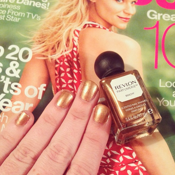 Revlon Parfumerie Nail Lacquer in Beachy on Belle Belle Beauty