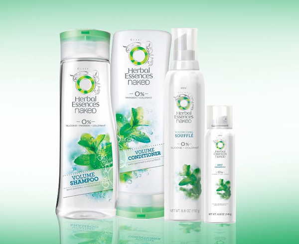 Herbal Essences Naked Collection Volume Kit on Belle Belle Beauty
