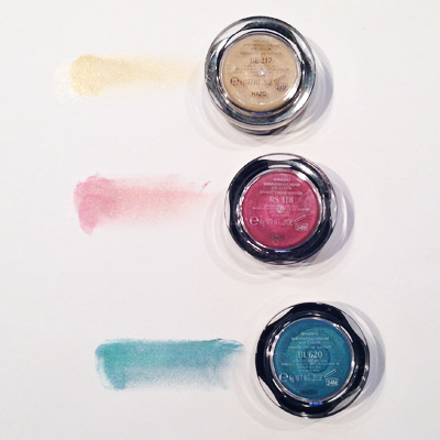 Shiseido Shimmering Cream Eye Color Swatches on Belle Belle Beauty