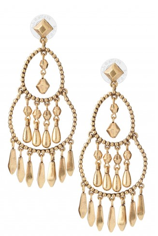 Reverie Chandelier Earrings on Belle Belle Beauty