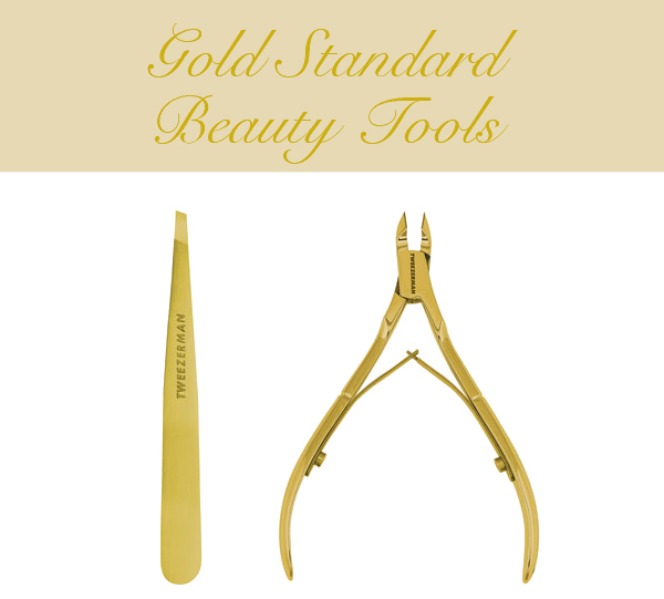 Tweezerman Ultra Precision Slant Tweezer and Cuticle Nipper on Belle Belle Beauty
