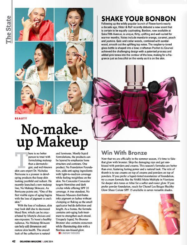 June 2014 Oklahoma Magazine on Belle Belle Beauty