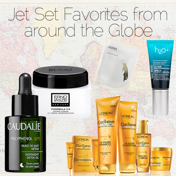 Jet Set Favorites from around the Globe on FOX23's Tulsa Live on Belle Belle Beauty