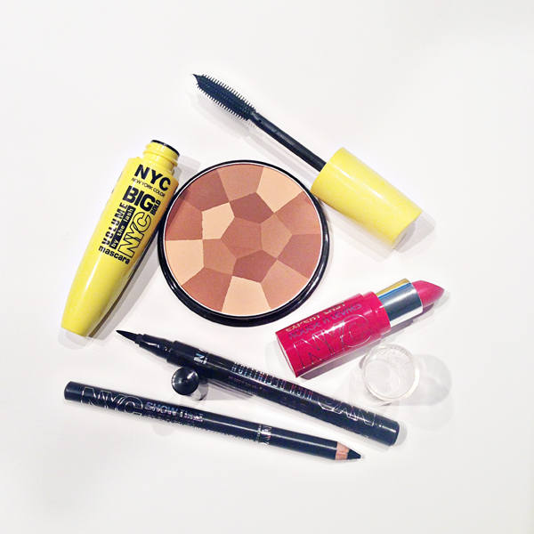 My Summer Makeup Look With NYC Cosmetics and a GIVEAWAY on Belle Belle Beauty