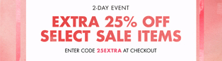Thumbnail image for Shopbop Sale – An Extra 25% Off!