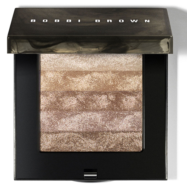 Bobbi Brown Limited Edition Shimmer Brick Compact in Sandstone on Belle Belle Beauty