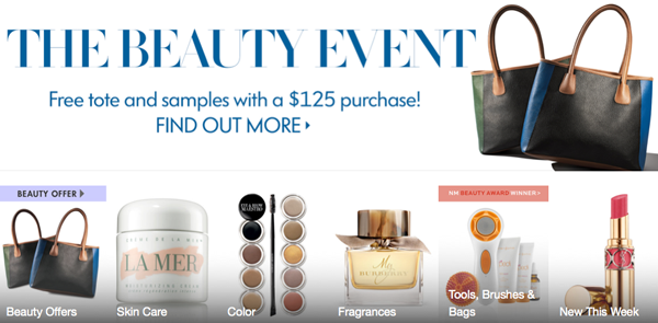 Neiman Marcus Beauty Event on Belle Belle Beauty