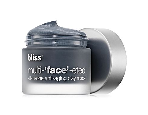 bliss multi-'face'-eted anti-aging clay mask on Belle Belle Beauty