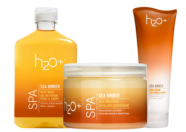 H2O Plus Spa Sea Amber Collection on Belle Belle Beauty