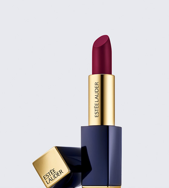 Estee Lauder Pure Color Envy Lipstick in Insolent Plum on Belle Belle Beauty