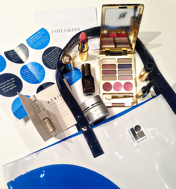 Estée Lauder and Lisa Perry Gift At Neiman Marcus on Belle Belle Beauty