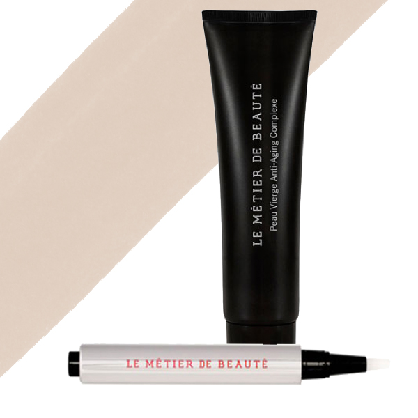 New Year's Skin: Le Metier de Beaute Peau Vierge Anti-Aging Complexe and Glow Pen Highlighter on Belle Belle Beauty
