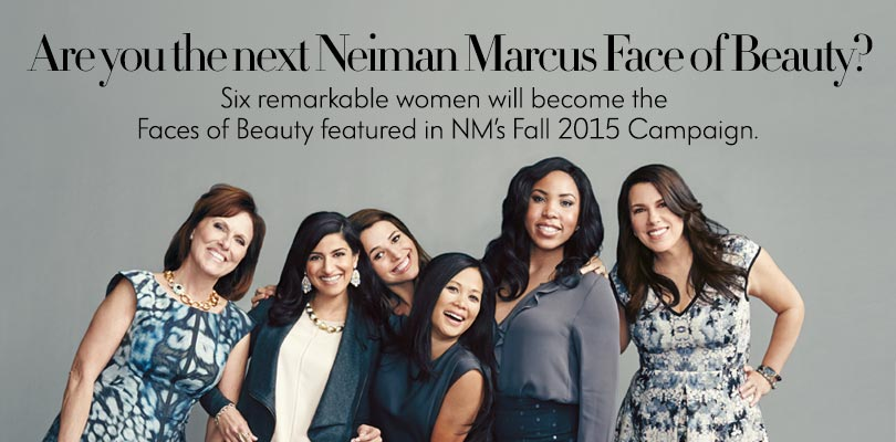 Neiman Marcus Face of Beauty on Belle Belle Beauty