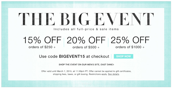 Don't Miss: Shopbop's BIG Spring Sale on Belle Belle Beauty