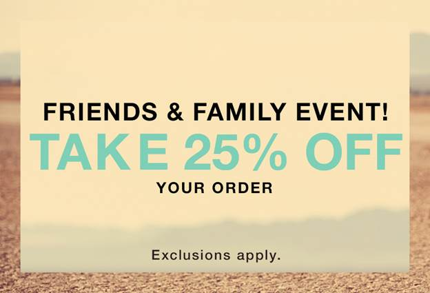 Shopbop Friends and Family Sale on Belle Belle Beauty