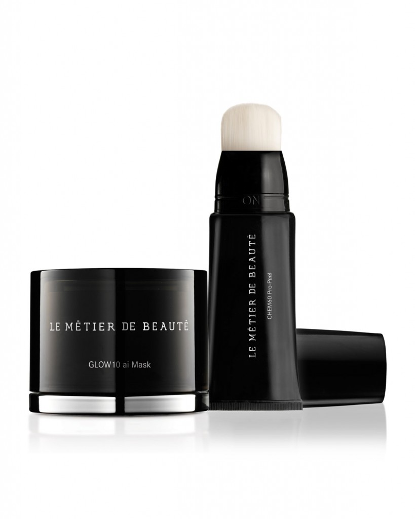 Le Metier de Beaute CHEM60 Pro-Peel and GLOW10ai Mask Set on Belle Belle Beauty