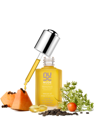 NUDE Skincare Progenius Omega Treatment Rescue Oil on Belle Belle Beauty