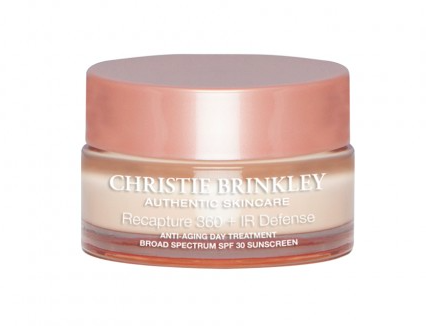 Christie Brinkley Authentic Skincare Recapture Day + IR Defense Anti-Aging Day Cream on Belle Belle Beauty